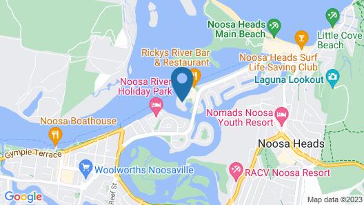 Culgoa Point Beach Resort Map