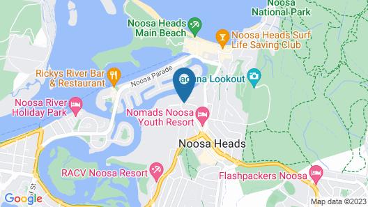 L'Auberge Apartments Noosa Map
