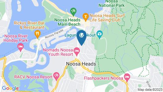 Bali Hai Apartments Noosa Map