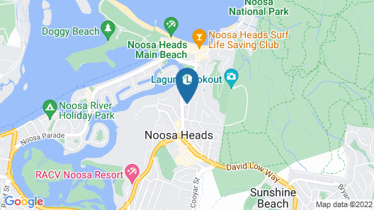 The Rise Noosa Map