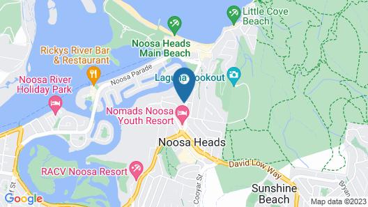Noosa Blue Resort Map
