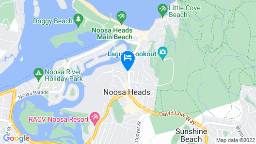 Noosa Blue Resort Map