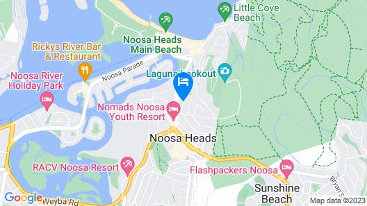 Noosa International Resort Map