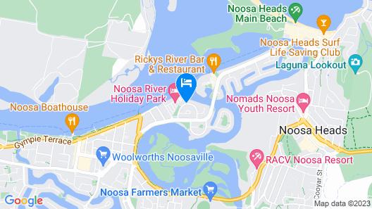 Noosa Pacific Resort Map