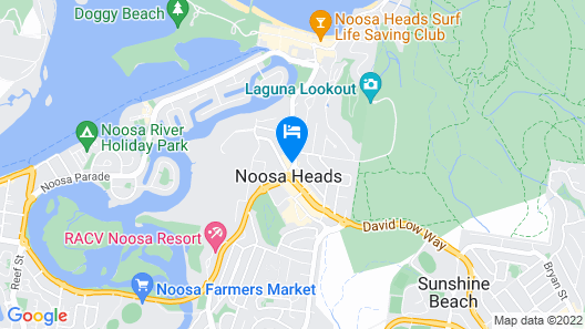 Nomads Noosa Backpackers Hostel Map