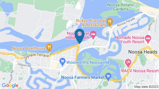 Munna Beach Apartments Map