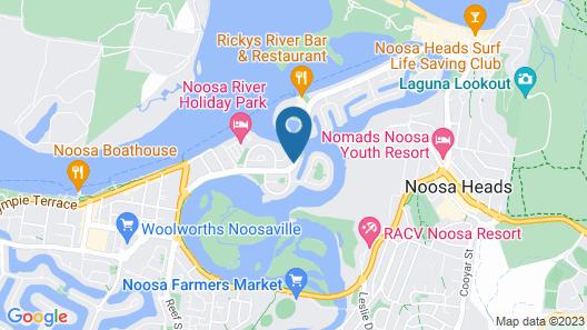 Nautilus Noosa Holiday Resort Map