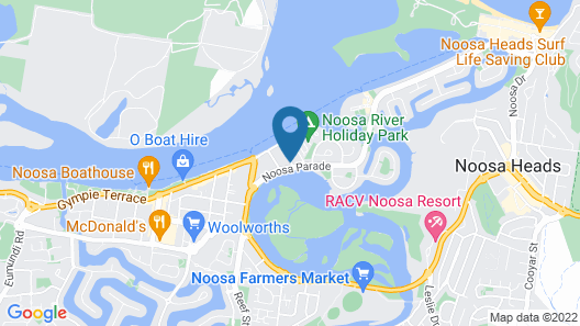Metzo Noosa Resort Map