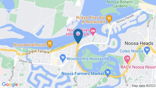 Offshore Noosa Resort Map