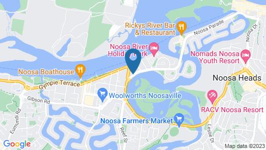 Noosa Keys Resort Map