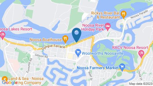 Regatta Noosa Map