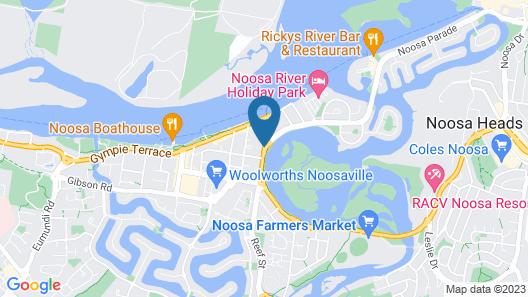 Verano Resort Map