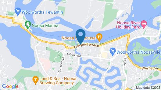 Noosa River Palms Map