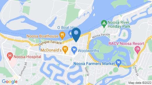 Colonial Resort Noosa Map