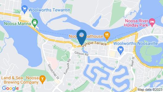Villa Aqua Map
