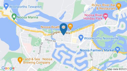 Sunset Cove Noosa Map