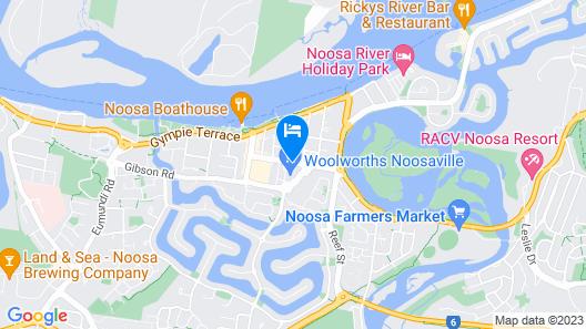 Villa Noosa Hotel Map