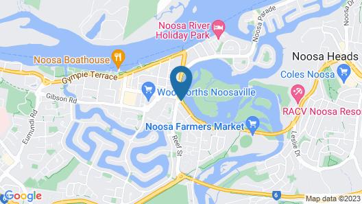 Noosa River Retreat Map