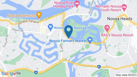Noosa Yallambee Holiday Apartments Map