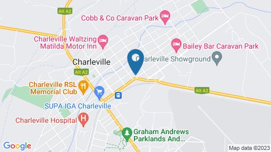 Charleville Motel Map