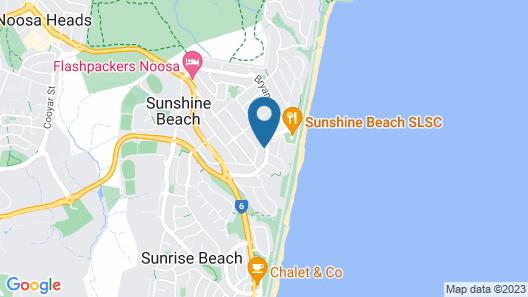 Crystal Shores Sunshine Beach Map