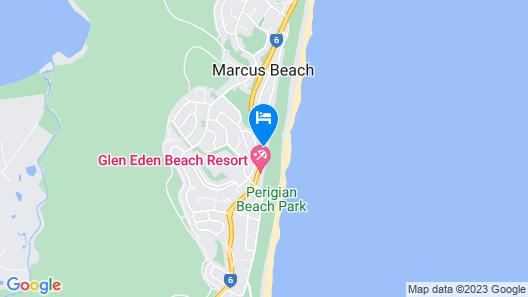 The Retreat Beach Houses Map