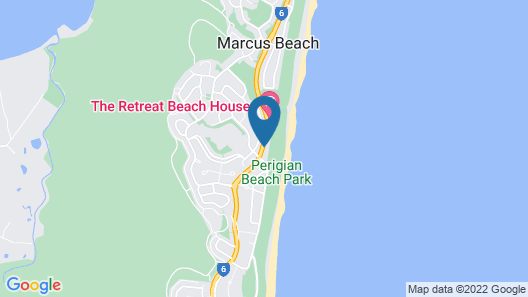 Glen Eden Beach Resort Map
