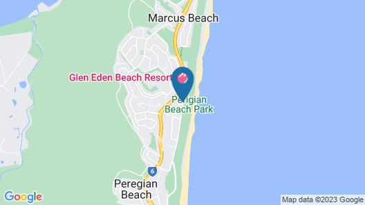 Peregian Court Resort Map