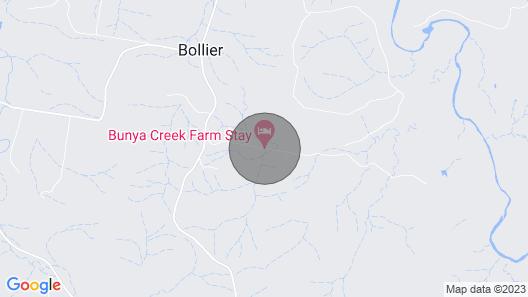 Bunya Creek Farm Stay Map