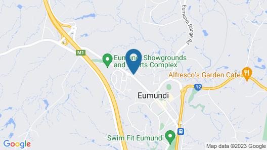 Eumundi Gridley Homestead B&B Map
