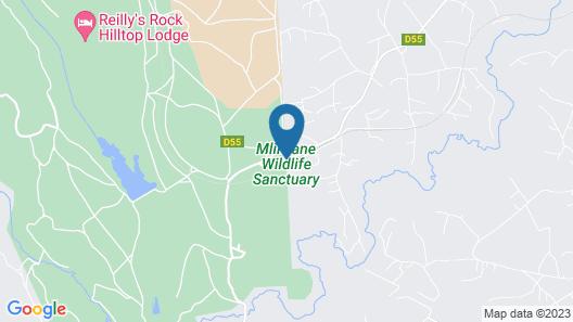 Mlilwane Wildlife Sanctuary Map