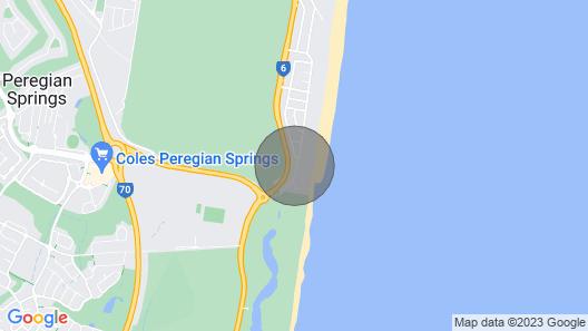 Stylish Beach Side Apartment - Unit 5 - 33 Lorikeet Drive Map