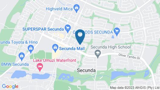 d Vine Guest House Map