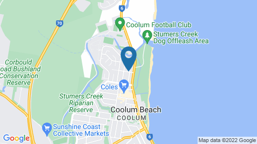 Growder Court 3 - Coolum Beach QLD Map