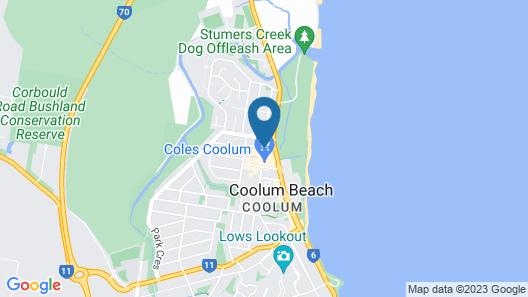 Coolum at the Beach Map