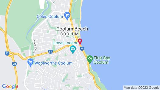 Beach Retreat Coolum Map