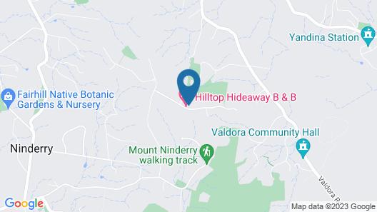 Hilltop Hideaway Map