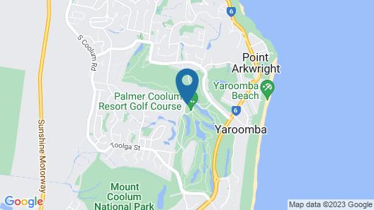 Palmer Coolum Resort Map