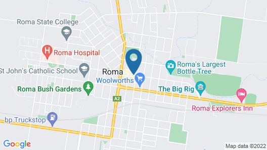 Queens Arms Hotel Map