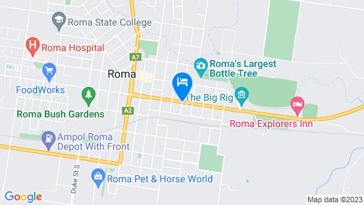 Starlight Motor Inn Map