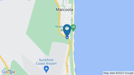 Pacific Palms Motor Inn Map