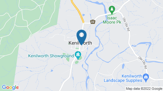 Kenilworth Boutique Accommodation Map