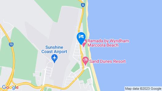 Ramada By Wyndham Marcoola Beach Map