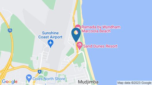 Sunshine Coast Airport Motel Map