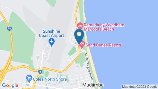Marcoola Beach Resort Map