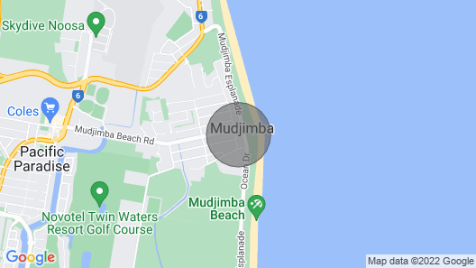 The Penthouse, Mudjimba Map