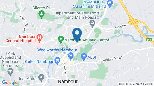 Motel in Nambour Map