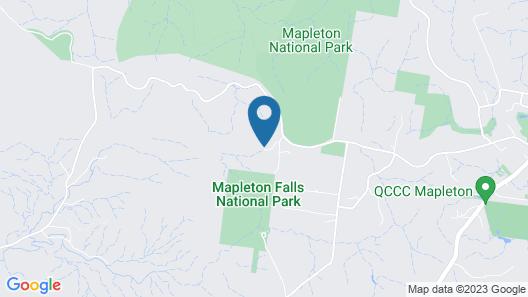 The Lodge Mapleton Falls Map