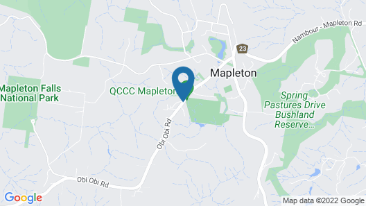 Mapleton Cabins & Caravan Park Map
