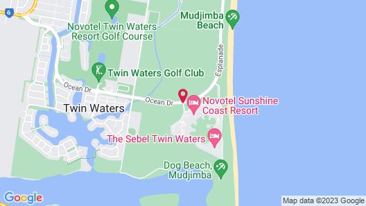 Novotel Sunshine Coast Resort Hotel  Map